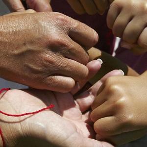 Kabbalah Red String With Hamsa Free shipping